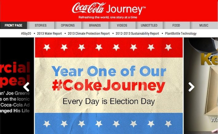 Coca-Cola: Refreshing the world, one story at a time
