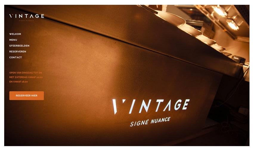 Bistro Vintage - Singé Nuance