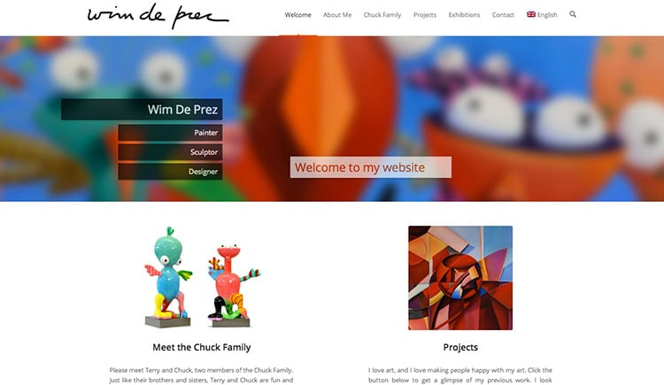 Wim De Prez - Lincelot Web Design