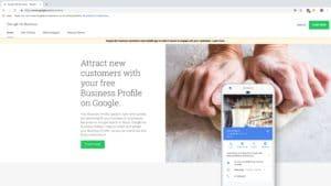 Log in bij Google Mijn Bedrijf om je bedrijfsgegevens in te voeren of aan te passen