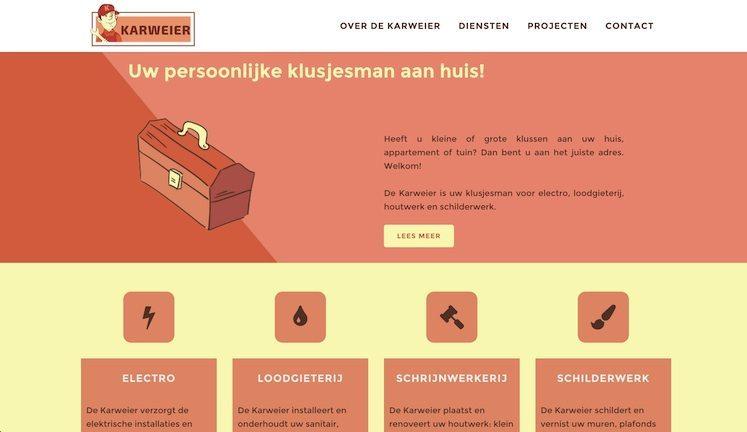 Lincelot webdesign - De Karweier 1