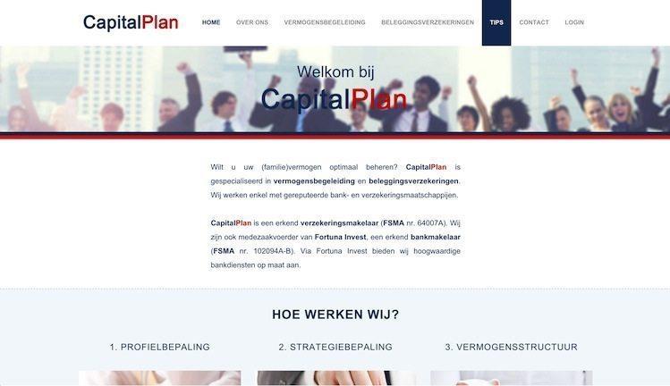 Lincelot webdesign en marketing - Capital Plan Welkom