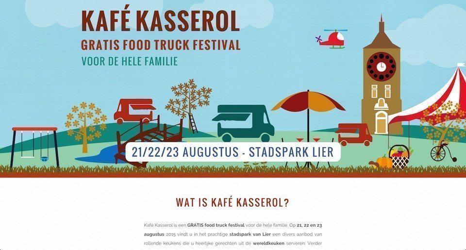 Kafe Kasserol - Footruck festival lier 1