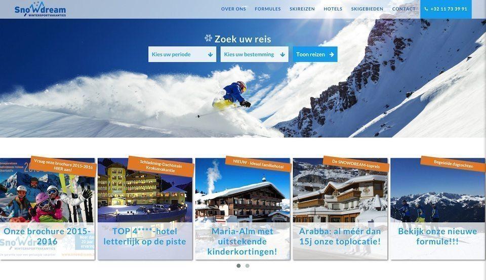 Lincelot webdesign - Snowdream Home