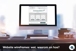 Website Wireframes - Wat waarom en hoe