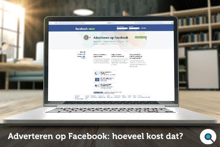 Adverteren op Facebook: hoeveel kost dat?