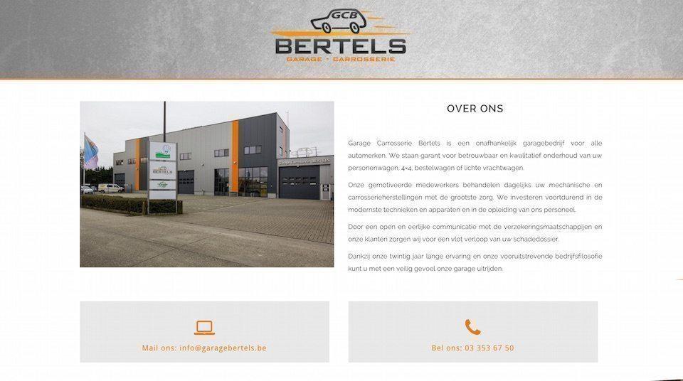 Lincelot webdesign - Gareg Bertels