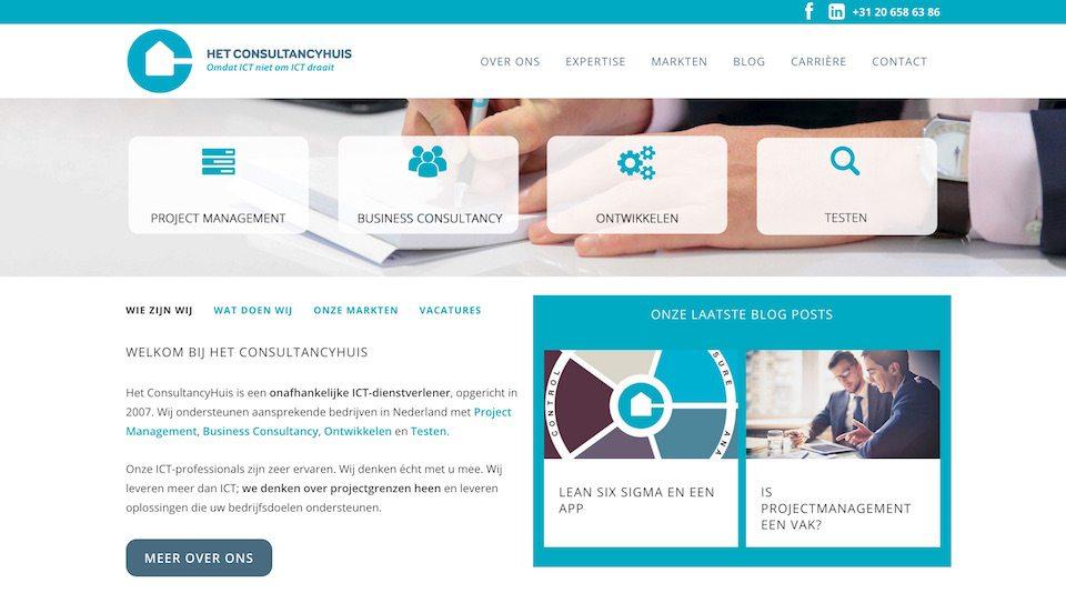 Lincelot Webdesign - Het Consultancyhuis Home