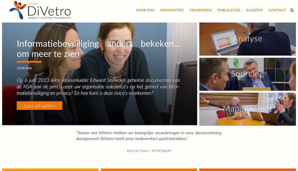 Lincelot webdesign - DiVetro 1