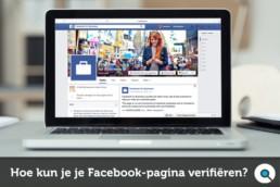 Hoe kun je je Facebook pagina verifiëren?