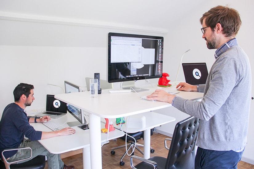 Hoe wij onze creativiteit stimuleren - zit-sta bureaus - Lincelot