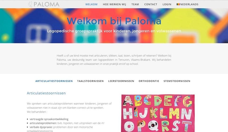 Lincelot - Webdesign - Paloma