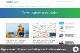 Hypoconnect - Content Marketing voor Kredietmakelaars