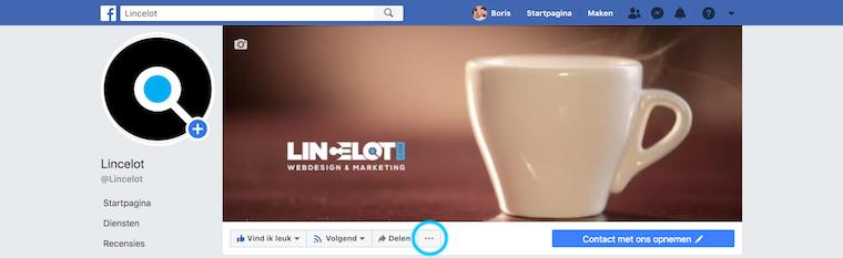 Facebook-mijlpaal-aanmaken-Lincelot