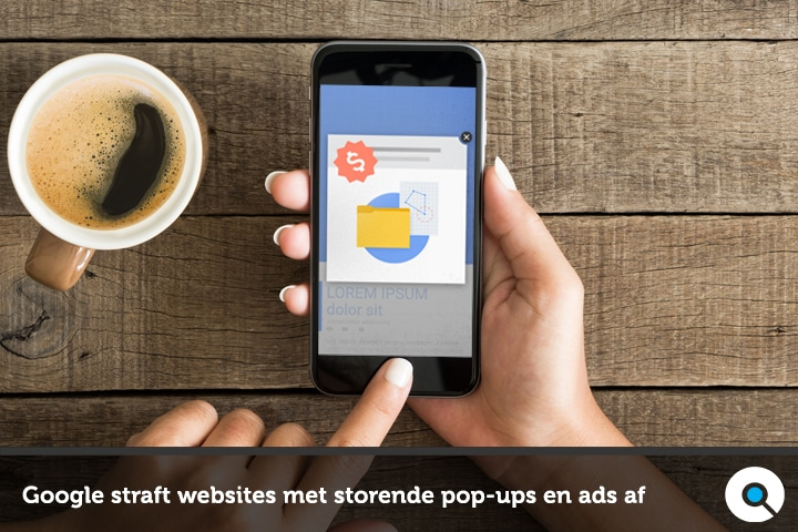 Google straft websites met storende pop-ups en ads af FI