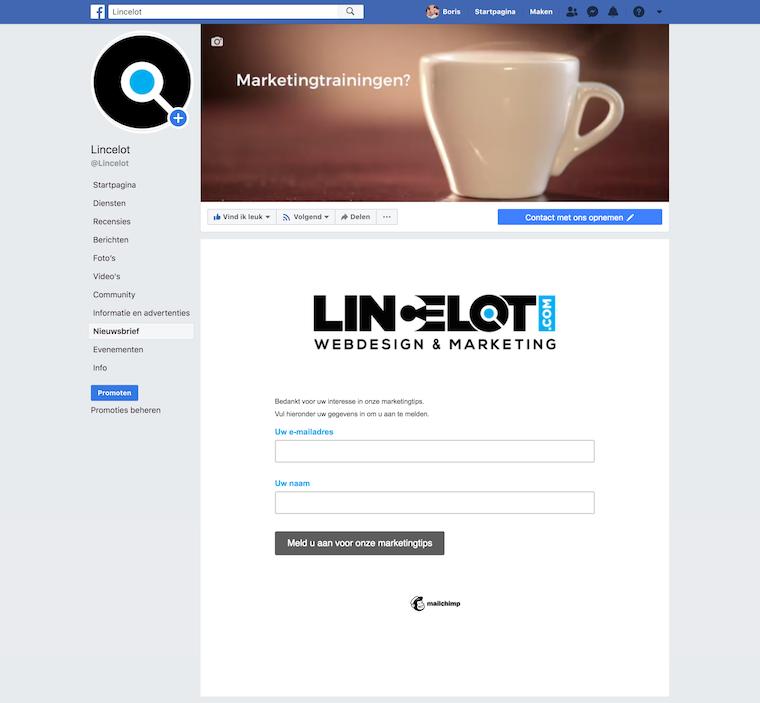 nieuwsbrief-tab-facebook-bedrijfspagina-lincelot