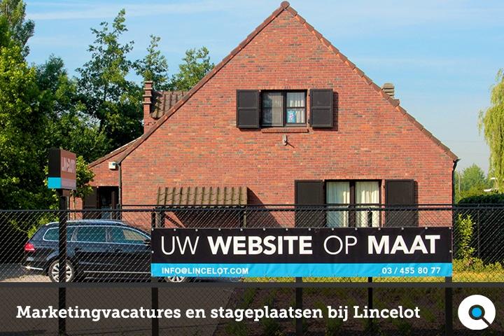 Marketingvacatures en stageplaatsen bij Lincelot in Boechout