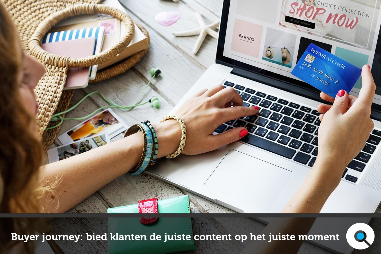 De buyer journey - bied klanten de juiste content aan op het juiste moment - FI