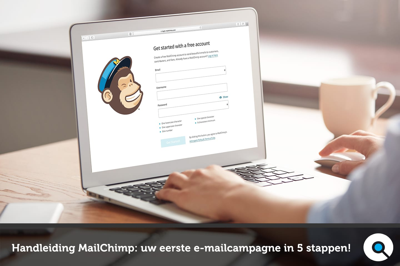 Handleiding MailChimp: uw eerste e-mailcampagne in 5 stappen!