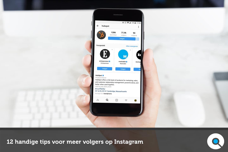12 handige tips voor meer volgers op Instagram