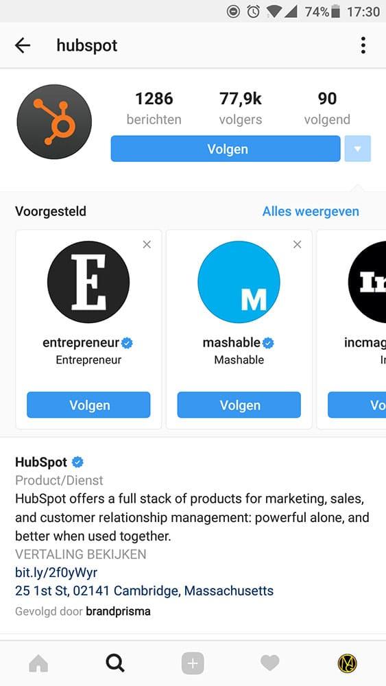 Meer volgers op Instagram - Voorgestelde gebruikers - Lincelot