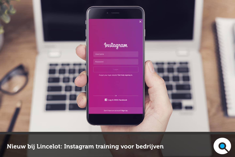 Instagram Training voor bedrijven bij Lincelot