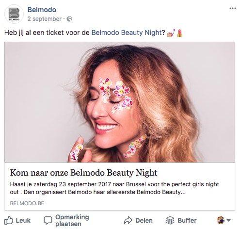Facebook post idee 23 - Event - Lincelot