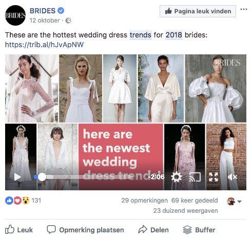 Facebook post idee 25 - Trends - Lincelot