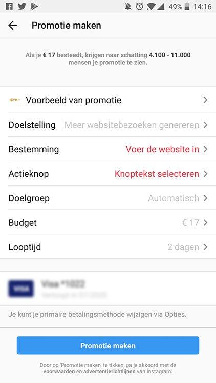 Adverteren op Instagram - Sponsored post targeten - Lincelot