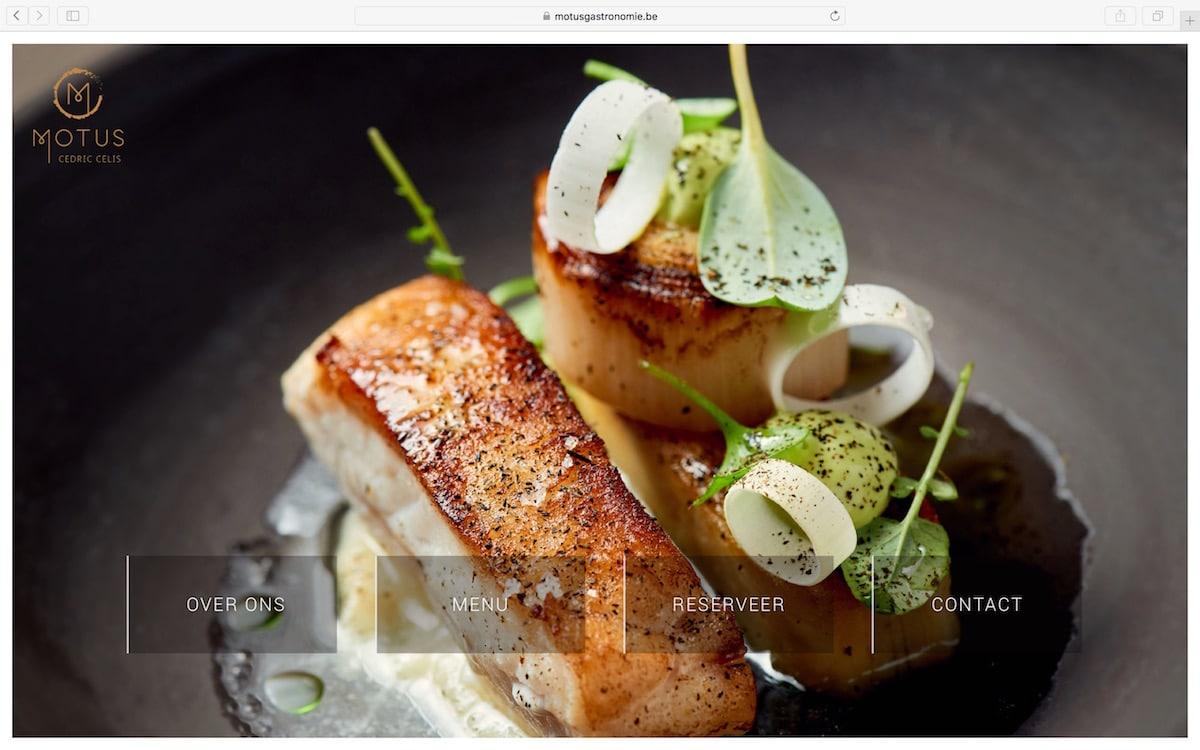 Lincelot Webdesign - Motus Gastronomie - Home