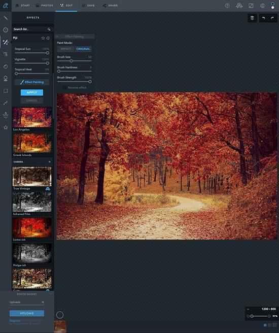 Online foto's bewerken - 5 gratis fototools - Ribbet Filters - Lincelot