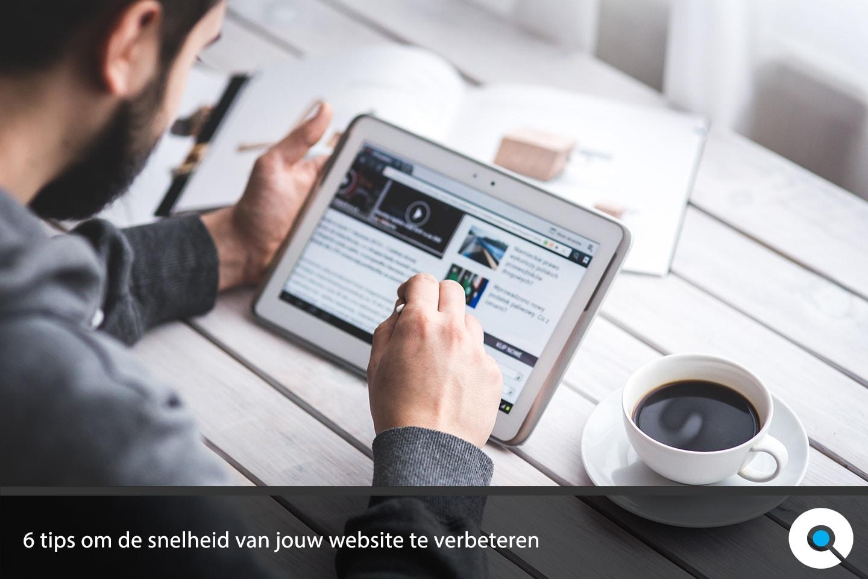 6 tips om de snelheid van jouw website te verbeteren