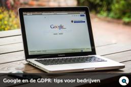 GDPR en Google - FB