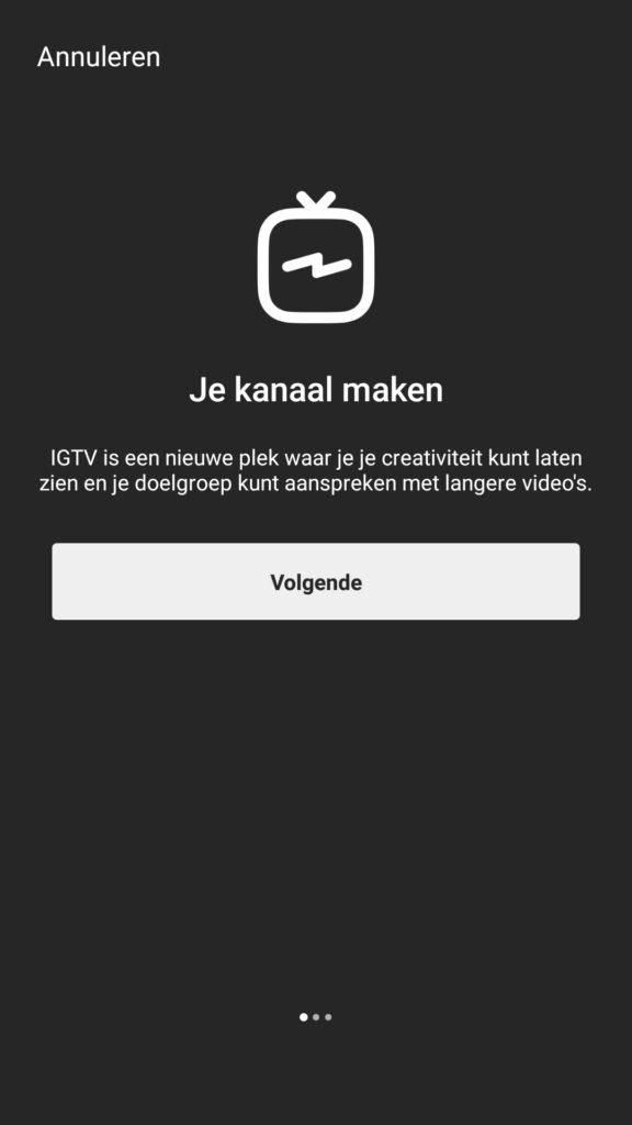 Je eigen kanaal maken op Instagram TV - IGTV - Lincelot