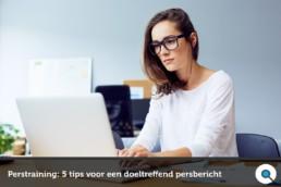 Perstraining: 5 tips voor een doeltreffend persbericht - Lincelot