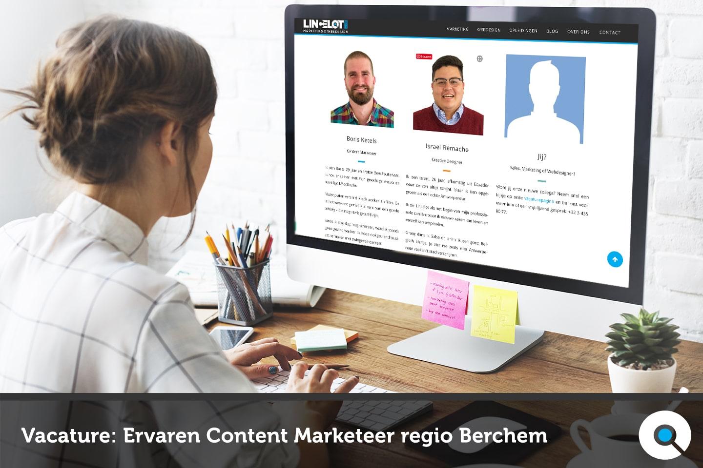 Ervaren Content Marketeer regio Berchem - FI