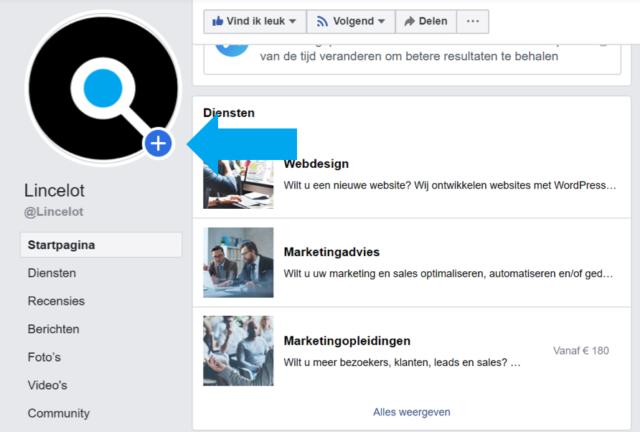 Facebook Stories voor bedrijven - de gids voor beginners - Stories maken - Lincelot