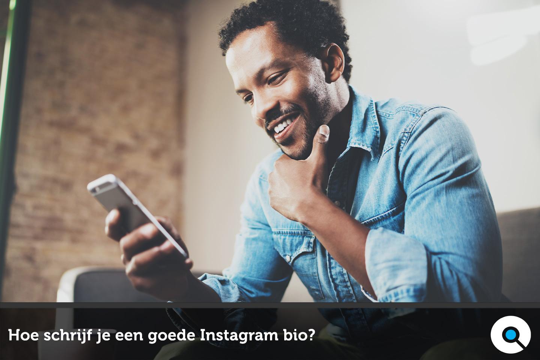 Hoe schrijf je een goede Instagram bio