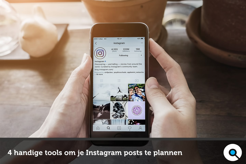 4 handige tools om je Instagram posts te plannen - Lincelot
