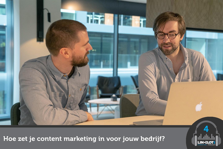 Hoe zet je content marketing succesvol in voor jouw bedrijf